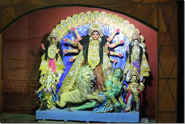 Ma Durga at Debjan Apts 2012