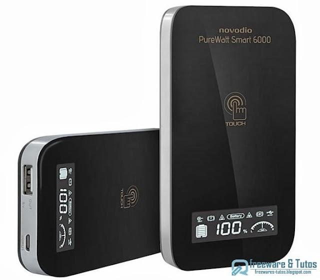 Concours (7 ans du blog) : une batterie Novodio PureWatt Smart 6000 à gagner !
