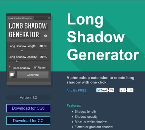 Long-shadow-generator-photoshop