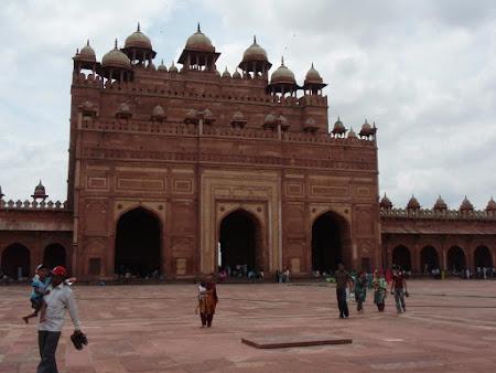 obiective turistice India: Moscheea din Fatehpur
