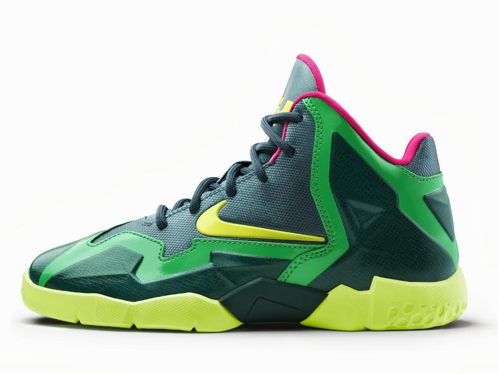 "Rare Look at Nike LeBron XI ""T-Rex"" Men's Player Exclusive ..."