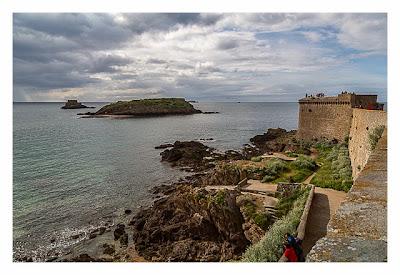 Saint Malo - Geocaching in historischer Kulisse - Grand Bé und Petit Bé