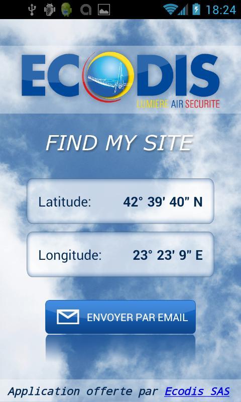 Find My Site- screenshot