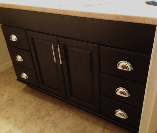 Monica Wants It A Lifestyle Blog Staining Oak Cabinets