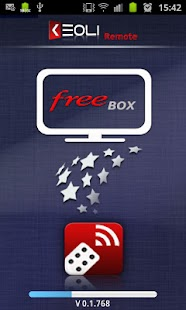 Keoli Remote FreeBox - screenshot thumbnail