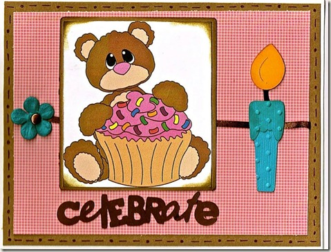 birthday bear n cupcake ds