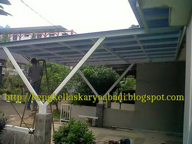 KANOPI MINIMALIS POLYCARBONATE JAKARTA