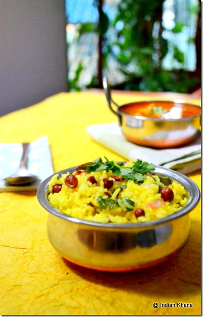 Easy healthy Lemon Rice South Indian Style