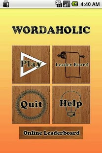 Wordaholic - Free Word Find- screenshot thumbnail