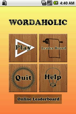 Wordaholic - Free Word Find - screenshot