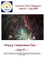 Issue 23 de julho de 2008 Vol 1 Dia da Independência feliz
