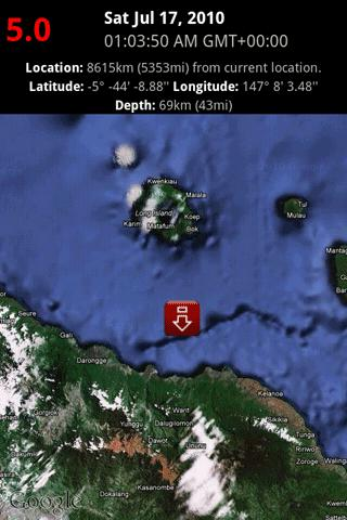 Earthquake Lite - screenshot