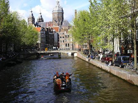 Imagini Olanda: canalele din Amsterdam