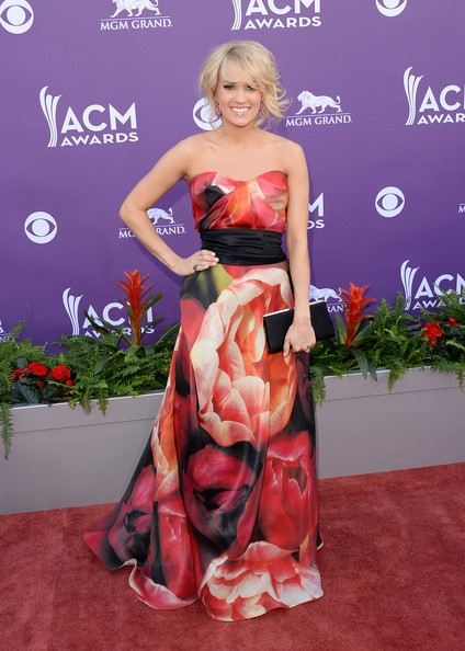 Carrie Underwood 48th Annual Academy Country Music Awards Arrivals
