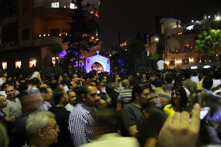 Imagini Damasc: Vinerea Mare in Siria