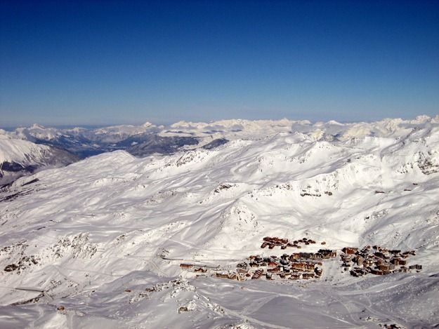 Val Thorens town