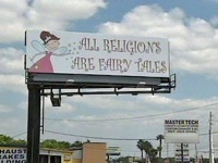 Atheist billboard