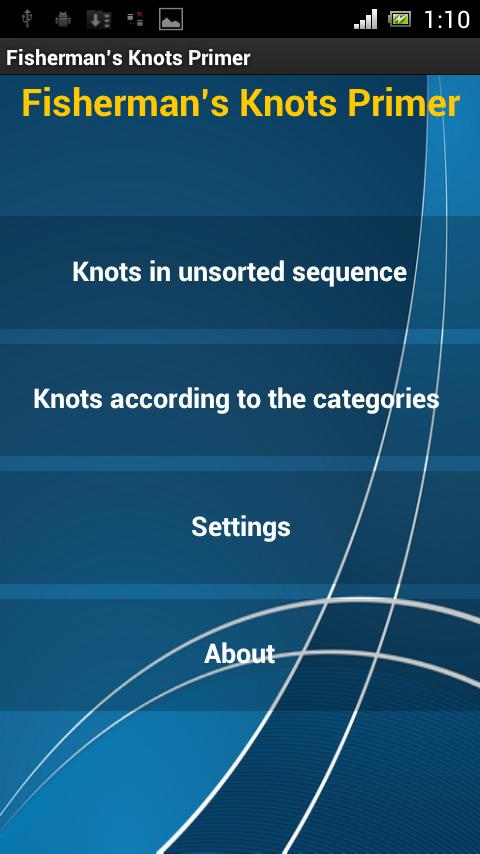 Animated Fishing Knots - screenshot