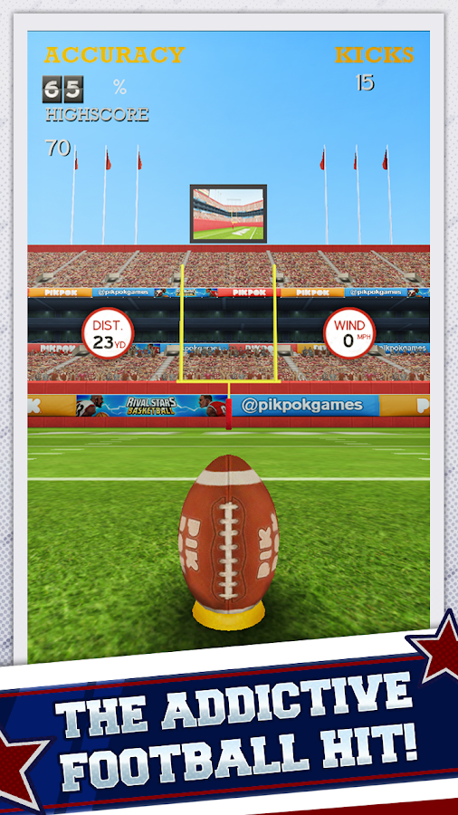Flick Kick Field Goal- screenshot