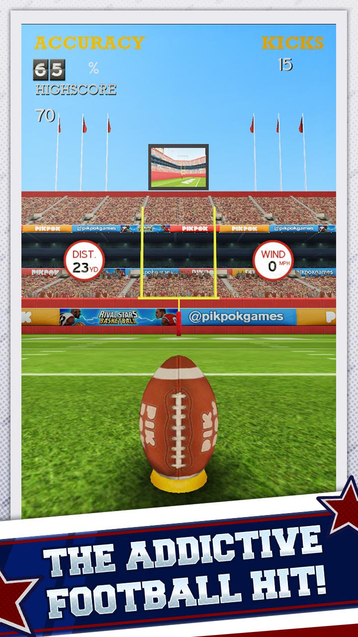 Flick Kick Field Goal screenshot #1