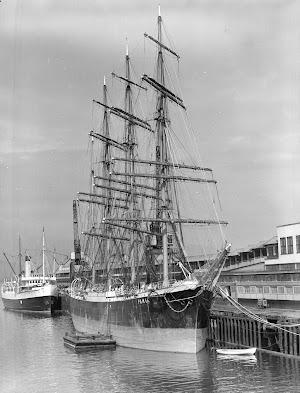 El PAMIR en Vancouver. Foto de City of Vancouver Archives