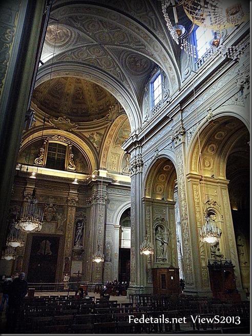 Cattedrale di San Giorgio interno3, Ferrara, Italia - St. George's Cathedral interior3, Ferrara, Italy