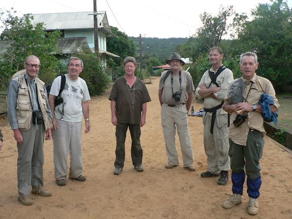 Dans le village de Kaw (Guyane). 18 novembre 2011. Photo : P. Fonteyne