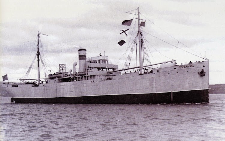El vapor ESPAÑA Nº3. Del libro Empresa Naviera Elcano. Seis Décadas de Historia.JPG