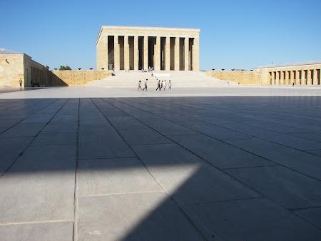 Obiective turistice Turcia: mausoleu Ataturk Ankara