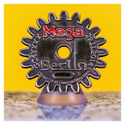 MegaBerlin 2014 – MegAdvent - Eventcoin - Rückseite