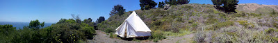 Sibley tent at Tree Bones Resort