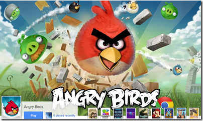 Angry birds on Google plus