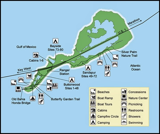 00 - Campground - Bahia Honda State Park Map