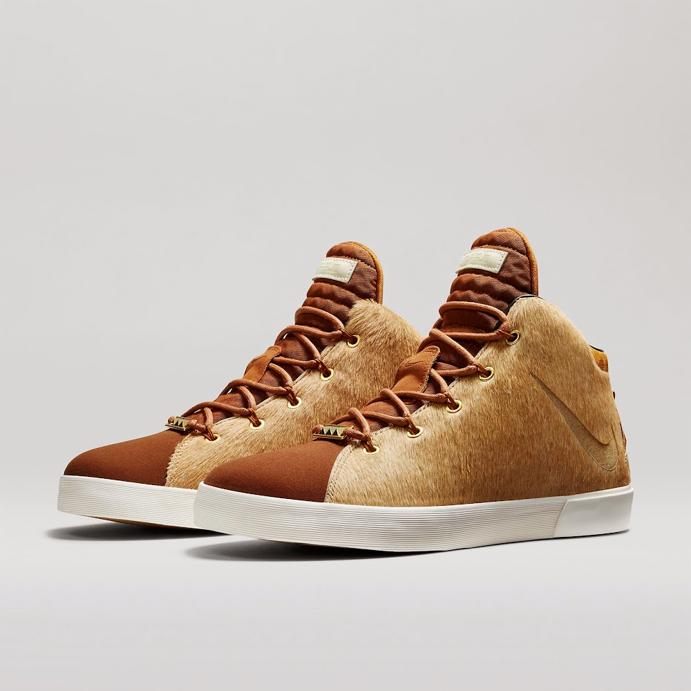 newest a0ce8 2bac4 ... 8220Lion8217s Mane8221 Nike LeBron XII Lifestyle Drops on 1227 ...