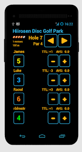 Disc Caddy 2 - Disc Golf app - screenshot thumbnail