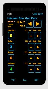 Disc Caddy 2 - Disc Golf app- screenshot thumbnail
