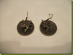steampunk fairy earrings