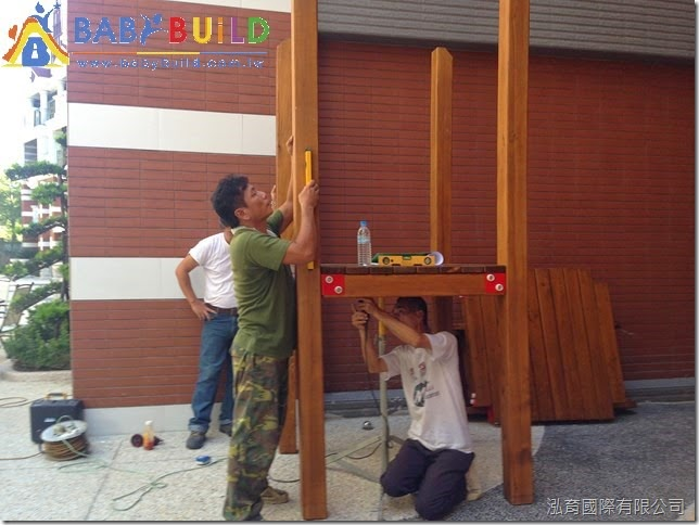 兒童遊具專業施工與組裝