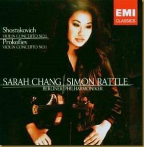 Prokofiev concierto violin 1 Chang Rattle