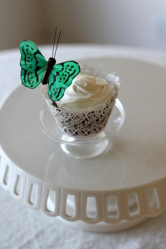 Spring Butterfly Cupcakes (4)