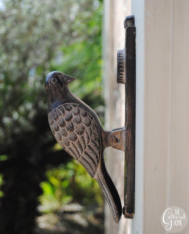 Anthropologie Woodpecker Door Knocker