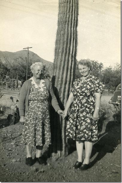 Hilda Maria (Carlsson) Gillberg and Sister Hilma Elizabeth (Carlsson) Taylor