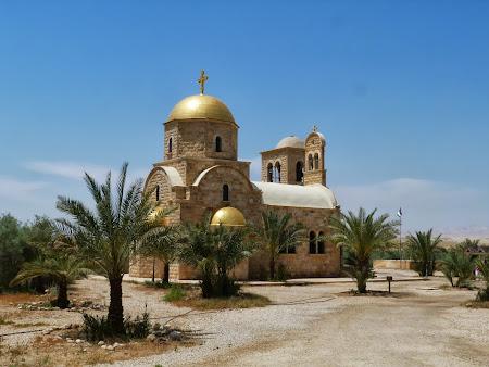 Biserica ortodoxa de la locul botezului