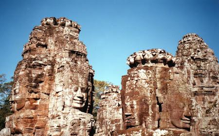 Obiective turistice Cambogia: Bayon