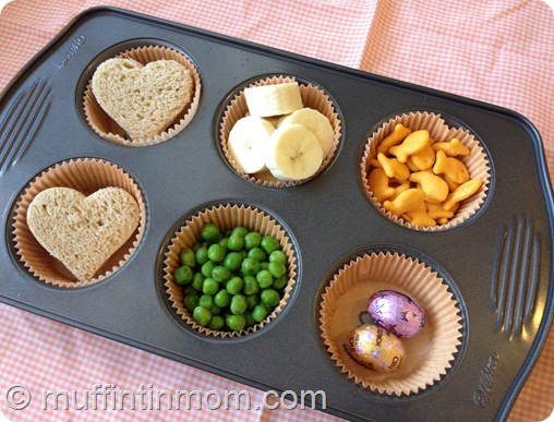 muffin tin meal for kids