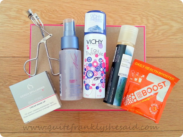 Birchbox February Beauty Box contents
