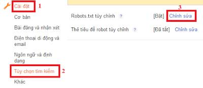 File Robot.txt chuẩn nhất cho Blogspot