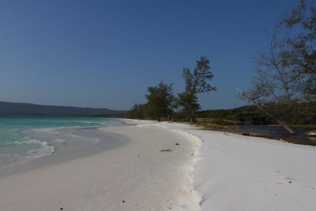 The Lovely Long Beach of Koh Rong Island
