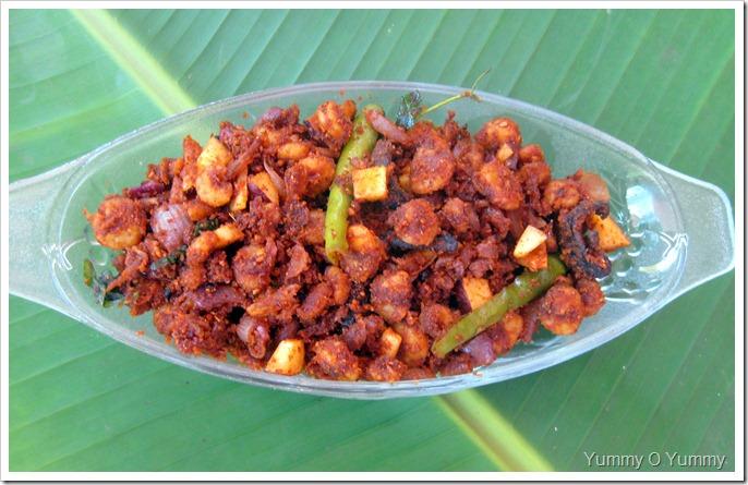Prawns in Roasted Coconut Masala