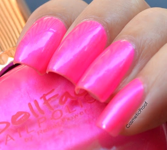 Doll Face Brand Nail Polish in Pisces Pink